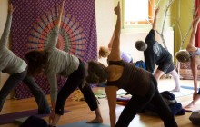 yoga class large