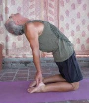 Open Your Heart in Camel Pose