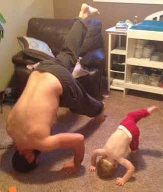 Sharing Your Yoga with Your Own Children