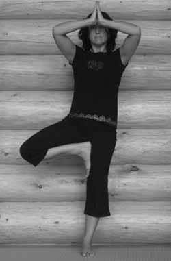 vrksasana or the tree pose  soya yoga teacher training