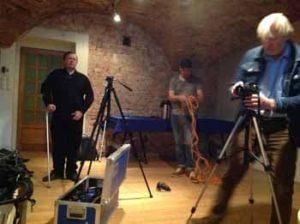 filming yoga in latvia