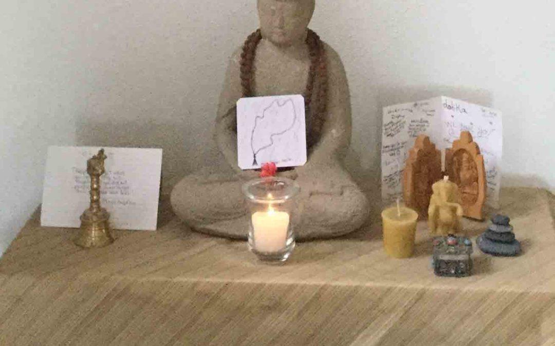 Altars Create a Sacred Space