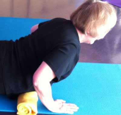 cobra pose modified for low back pain  soya yoga