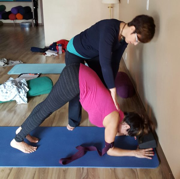 yoga teacher