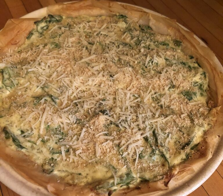 Spinach Bake in Phyllo Pastry